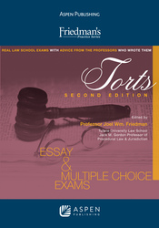 Cover image of Friedman's Practice Series for Torts, Second Edition