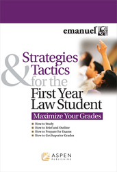 Cover image of Strategies and Tactics for the First Year Law Student