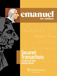 Cover image of Emanuel Law Outlines for Secured Transactions