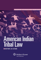 Cover image of American Indian Tribal Law