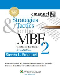 Cover image of Strategies and Tactics for the MBE II, Second Edition