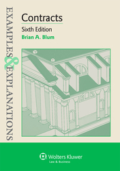 Cover image of Examples & Explanations for Contracts, Sixth Edition