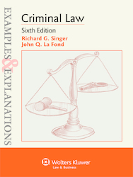 Cover image of Examples & Explanations for Criminal Law, Sixth Edition
