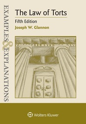 Cover image of Examples & Explanations for the Law of Torts, Fifth Edition