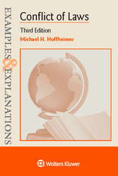 Cover image of Examples & Explanations for Conflict of Laws, Third Edition