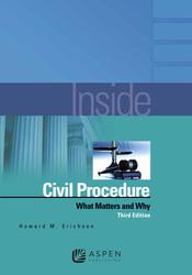 image Inside Civil Procedure study guide