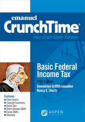 Cover image of Emanuel CrunchTime for Basic Federal Income Tax, Fifth Edition