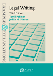 Cover image of Examples & Explanations for Legal Writing, Third Edition