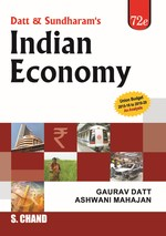 Cover image of Indian Economy, 72/e