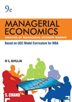 Cover image of Managerial Economics: Analysis of Managerial Decision Making