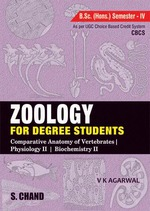 Cover image of Zoology For Degree Students - Semester IV