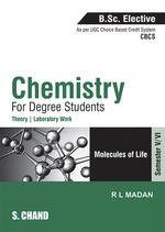 Cover image of Chemistry for Degree Students (B.Sc. Elective Semester-V/VI - Elective-III) (As per CBCS)