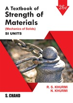 Cover image of A Textbook of Strength of Materials (Mechanics of Solids)