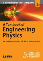 Cover image of A Textbook of Engineering Physics