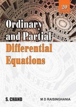 Cover image of Ordinary and Partial Differential Equations