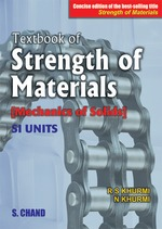 Cover image of A Textbook of Strength of Materials (Mechanics of Solids), Concise Edition