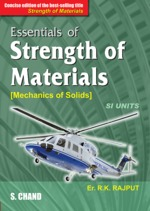 Cover image of Essentials of Strength of Materials (Mechanics of Solid), Concise Edition