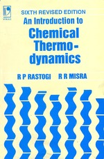 Cover image of An Introduction to Chemical Thermodynamics