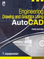 Cover image of Engineering Drawing and Graphics Using Autocad