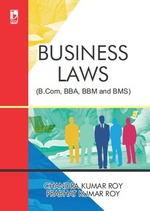 Cover image of Business Laws (For BCom, BBA, BBM and BMS)