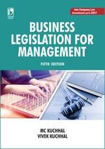 Cover image of Business Legislation for Management