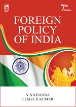 Cover image of Foreign Policy of India