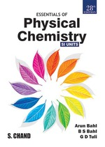 Cover image of Essentials of Physical Chemistry
