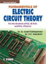 Cover image of Fundamentals of Electric Circuit Theory