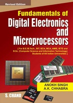 Cover image of Fundamentals of Digital Electronics and Microprocessors