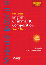 Cover image of High School English Grammar and Composition (Multicolour Edition)