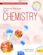 Cover image of Science for Tenth Class Chemistry Part 2