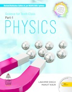 Cover image of Science for Tenth Class Physics Part 1