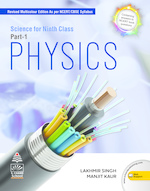 Cover image of Science for Ninth Class Physics Part 1