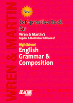 Cover image of Self Practice Book for Wren and Martin's High School Grammar and Composition