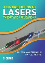Cover image of An Introduction to Lasers - Theory and Applications