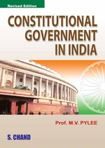 Cover image of Constitutional Government in India