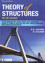 Cover image of Theory of Structures (In SI Units)