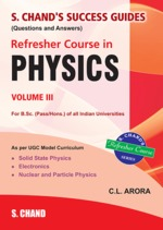 Cover image of Refresher Course in Physics Volume III
