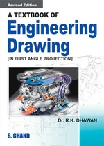 Cover image of A Textbook of Engineering Drawing