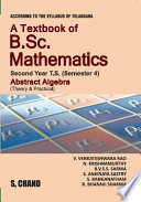 Cover image of A Textbook of B.Sc. Mathematics Abstract Algebra