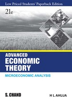 Cover image of Advanced Economic Theory (LPSPE)