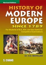 Cover image of History of Modern Europe