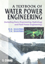 Cover image of A Textbook of Water Power Engineering