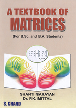 Cover image of A Textbook of Matrices