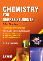 Cover image of Chemistry for Degree Students B.Sc. First Year