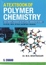 Cover image of A Textbook of Polymer Chemistry