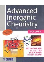 Cover image of Advanced Inorganic Chemistry-Volume II