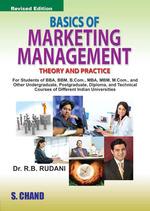 Cover image of Basics of Marketing Management