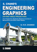 Cover image of S.CHAND'S ENGINEERING GRAPHICS