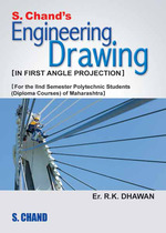Cover image of S. Chand's Engineering Drawing